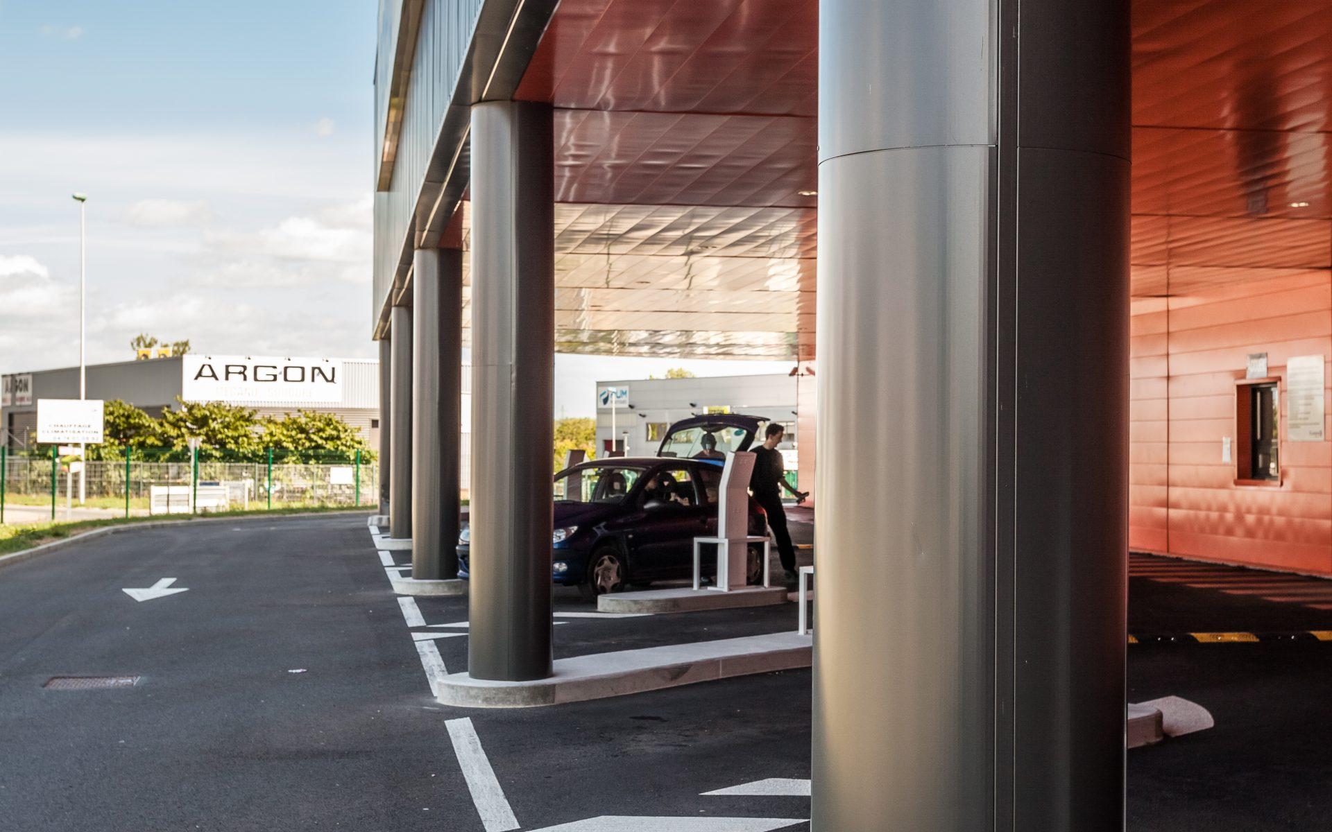LECLERC DRIVE bâtiment d'activités