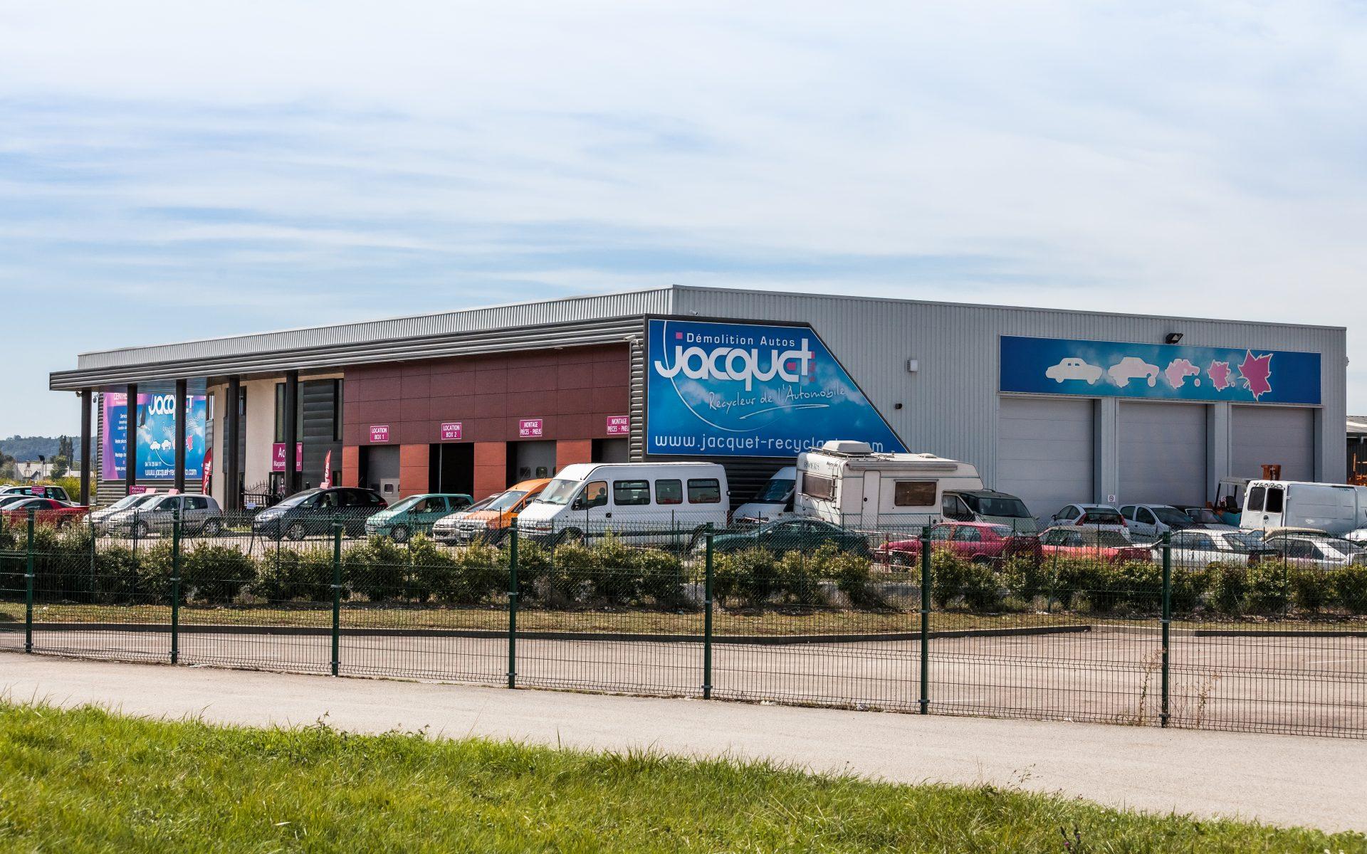 jacquet bâtiment industriel