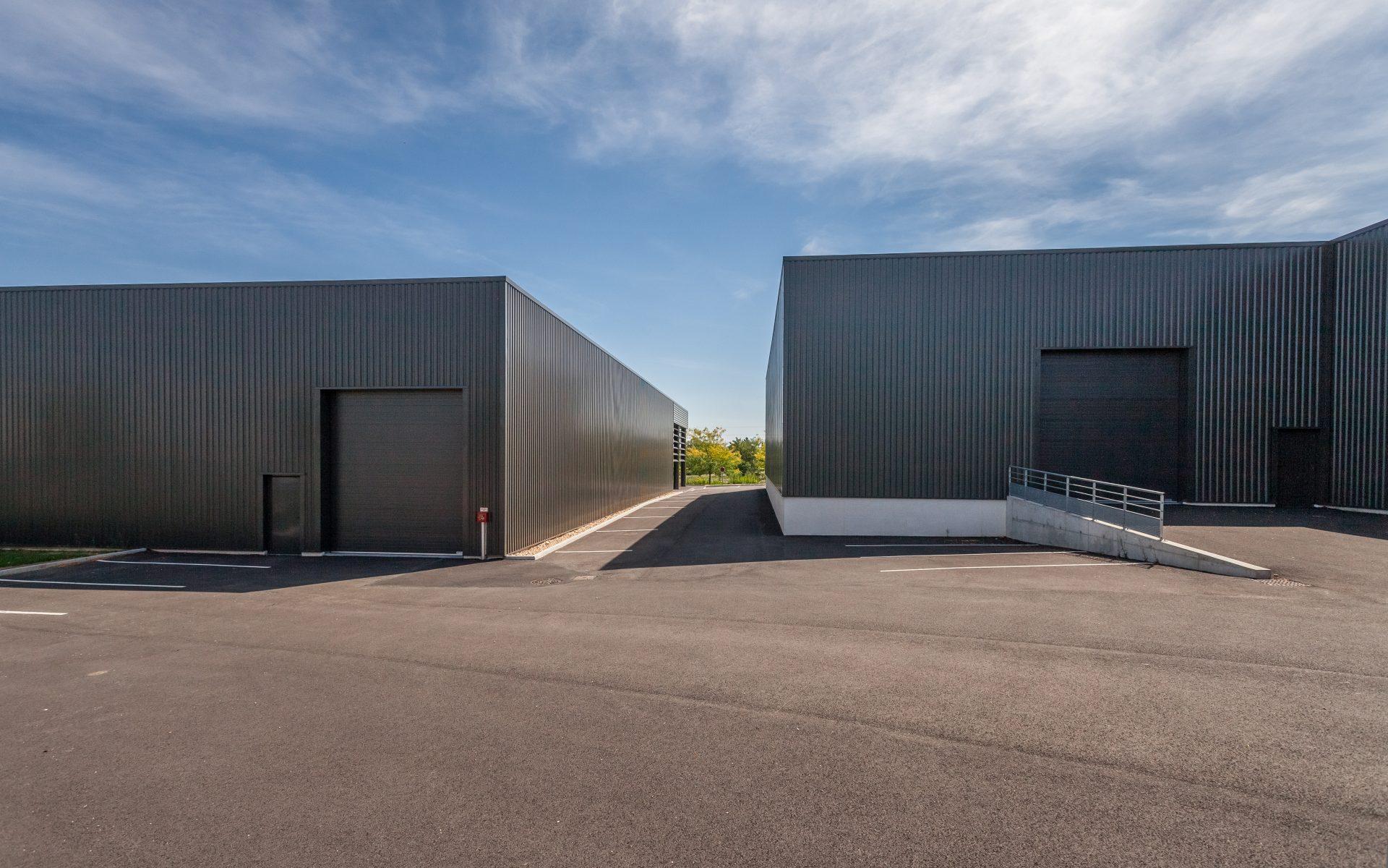 zac epinay bâtiment industriel